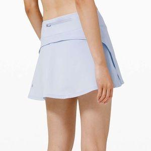 NWT lululemon play off the pleats skirt 6 daydream